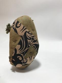 "2018. Stoked Broseph. Potato, ""tribal tattoo"" kinesiology tape"